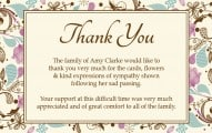 Thank You Letter for Wedding Program Thank You Letter for Funeral