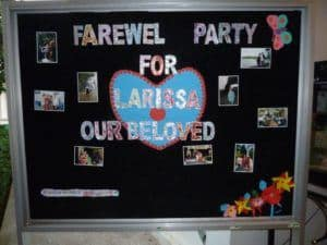 Thank You Farewell Party