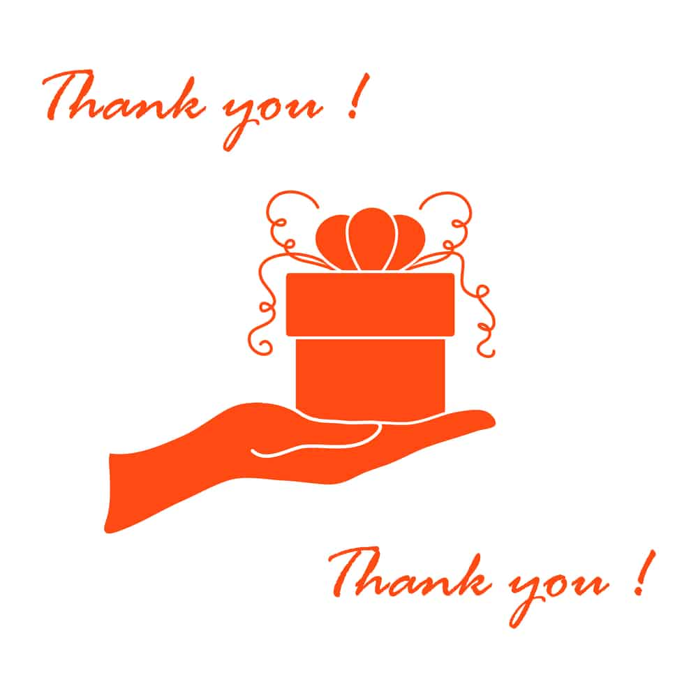 thank you for christmas gifts note